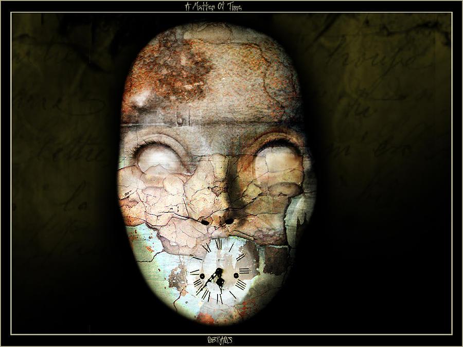 Time Digital Art - A Matter Of Time by Robert  Adelman