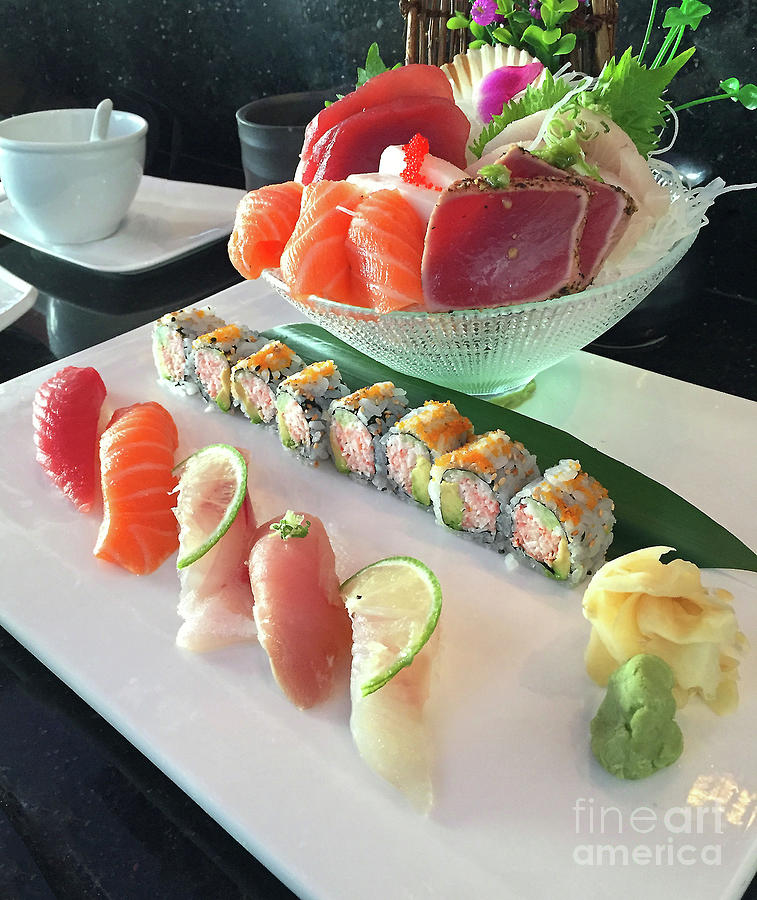 A Meal of Sushi by Frank Merrem