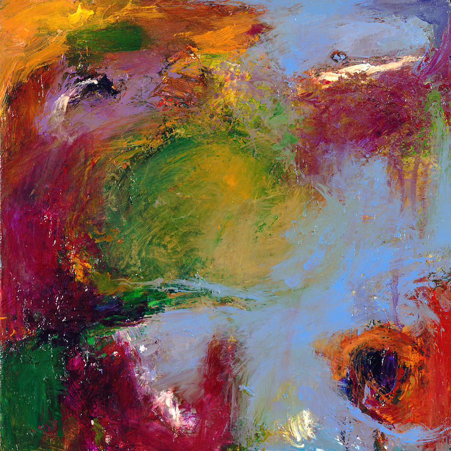 Abstract Painting - A Moment Captured by Johnathan Harris