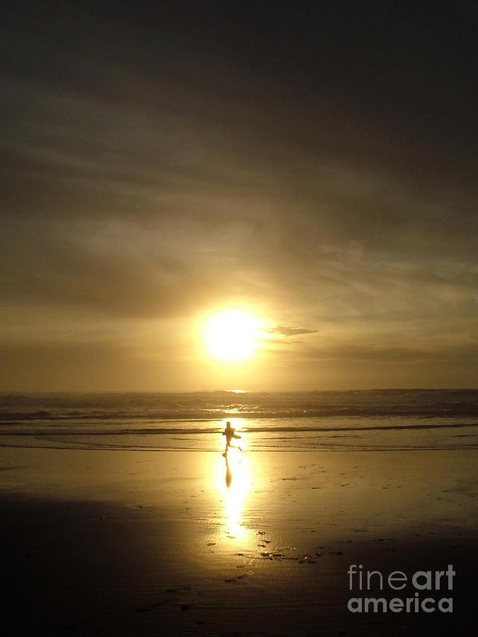 Beach Photograph - A Moment In The Sun by Nick Gustafson