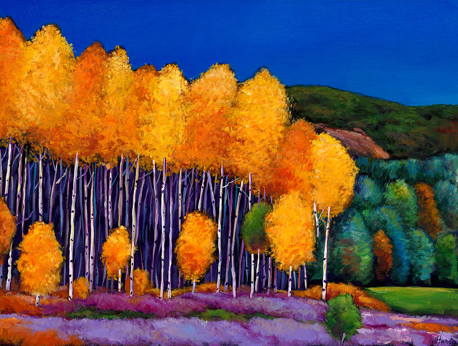 Aspen Painting - A Moment In Time by Johnathan Harris
