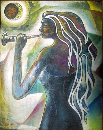 Moon Painting - A Moonlight Song by Joe Santana