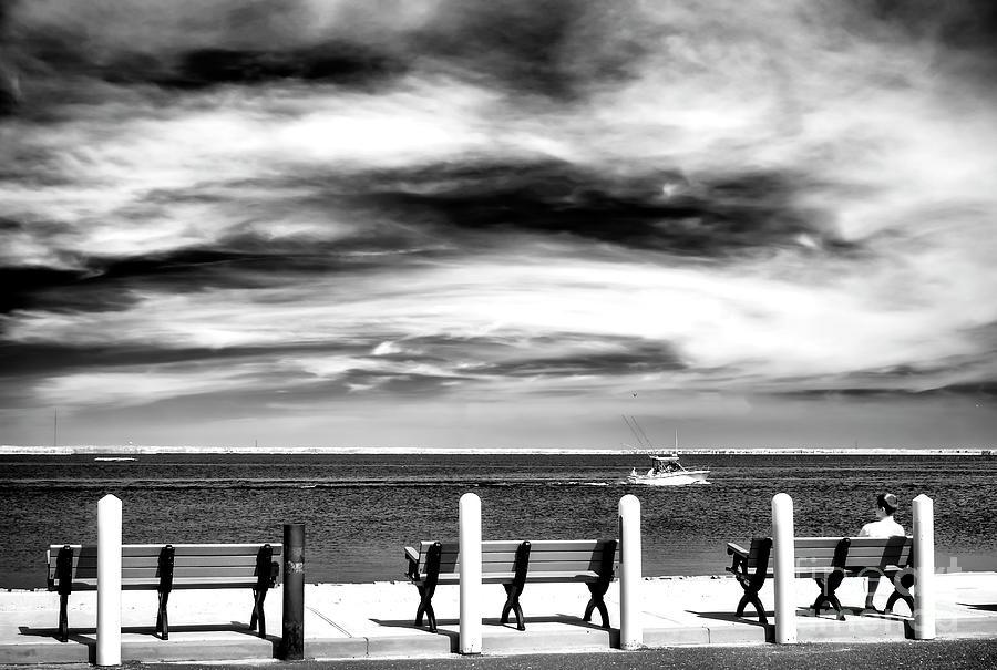 Bay View Photograph - A Morning Bay View At Long Beach Island by John Rizzuto