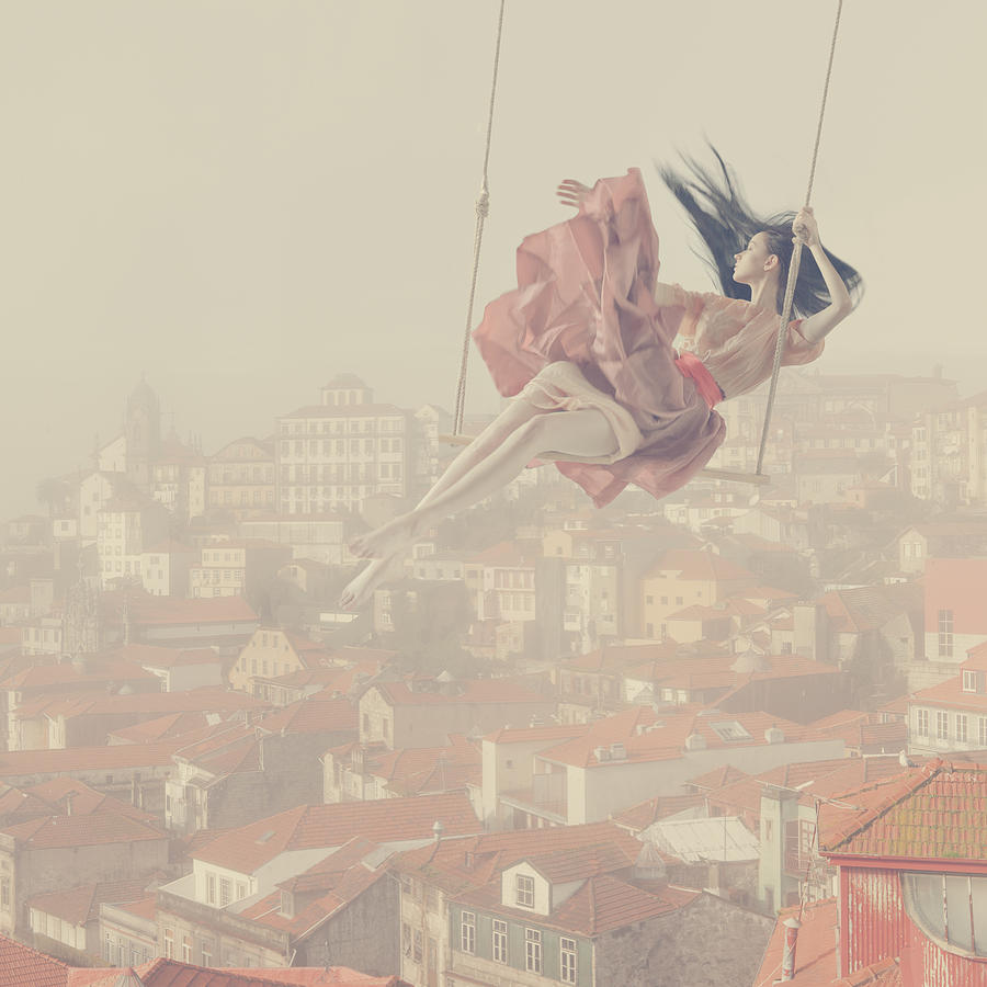 a morning over Oporto Photograph by Anka Zhuravleva