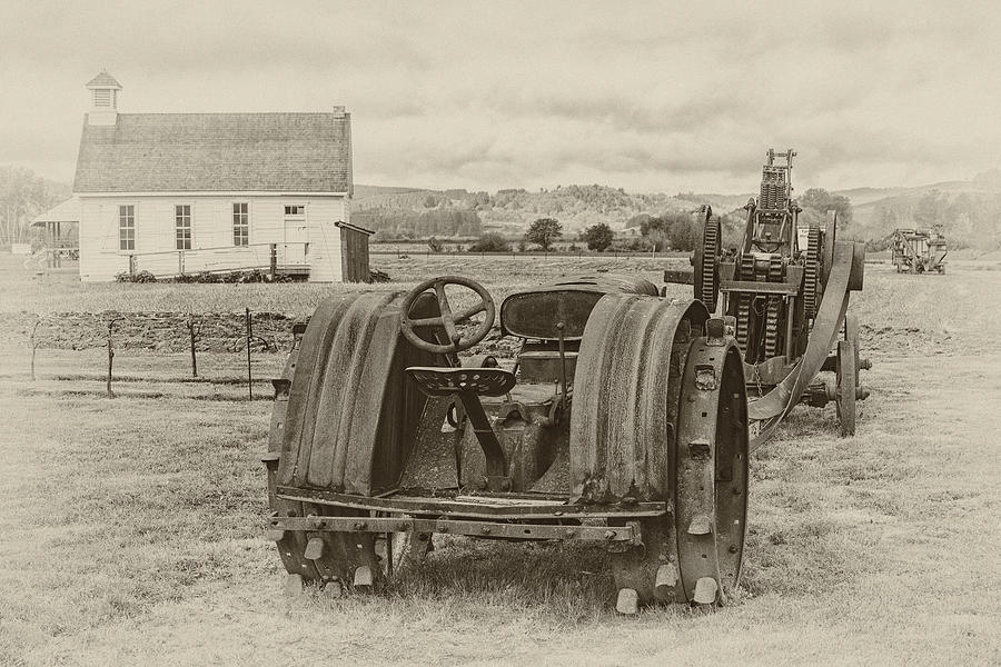 Antique Photograph - A Much Simpler Time by Joe Hudspeth