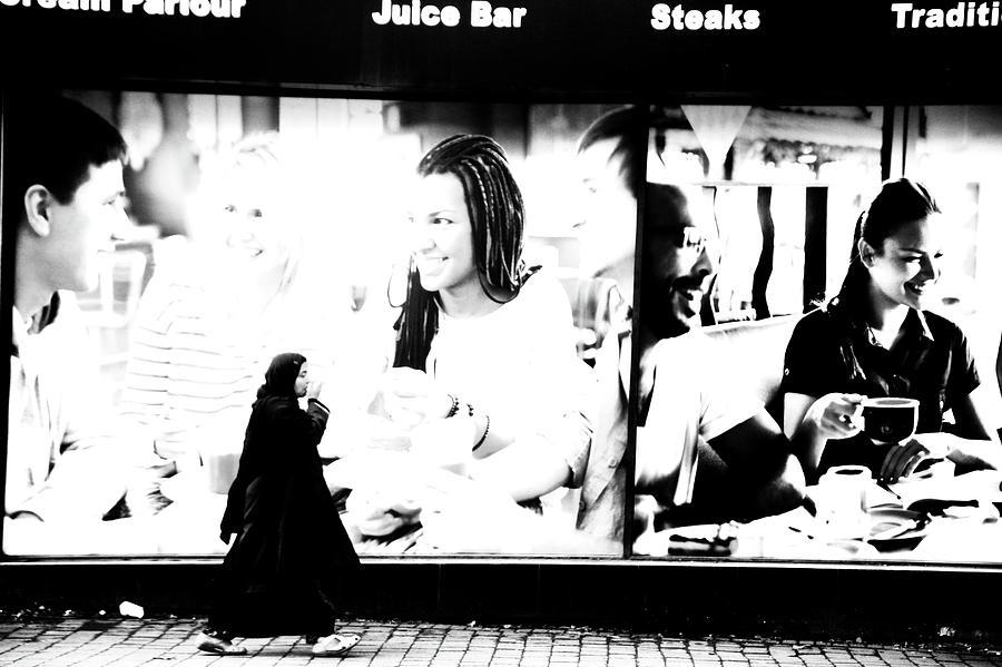 Bradford Photograph - A Muddled World by Jez C Self