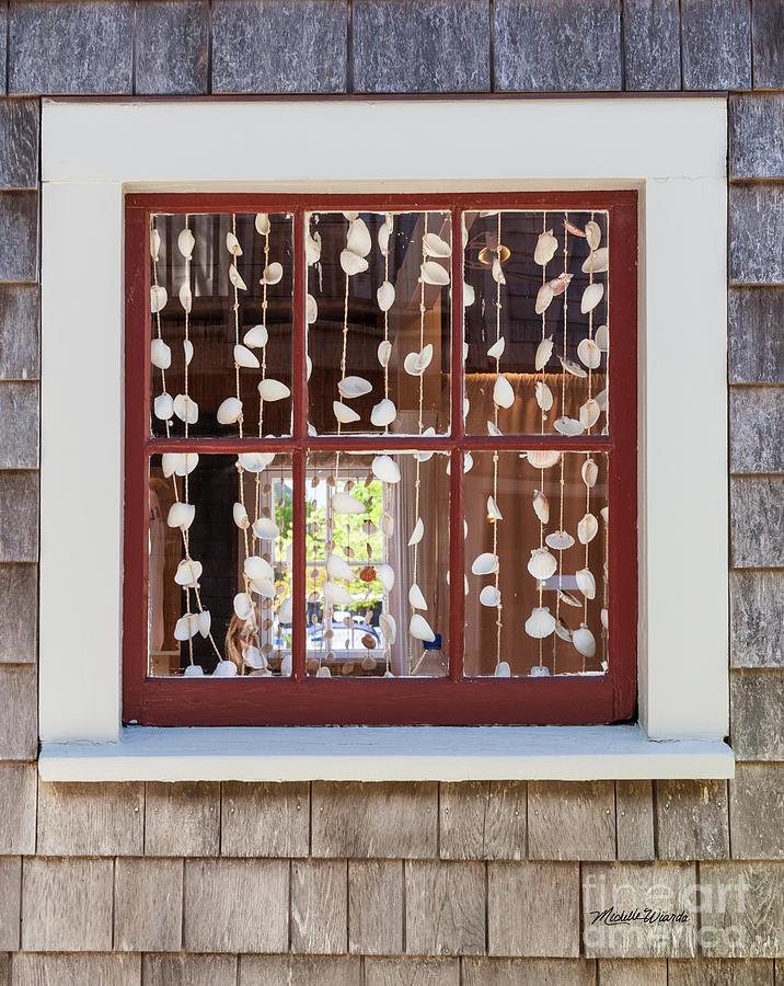 Landscape Photograph - A Nantucket Window by Michelle Constantine