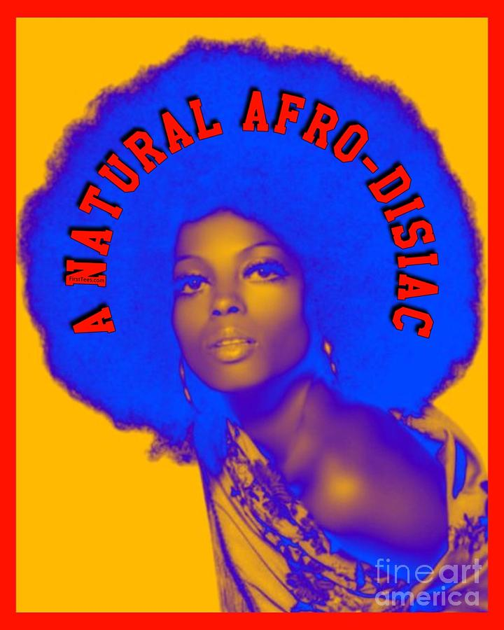 afrocentric digital art a natural afro disiac by motivational artwork