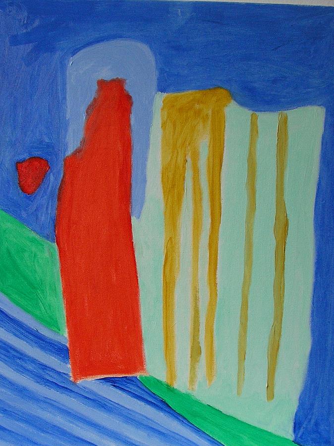 Spiritual Painting - A New Beginning  by Harris Gulko