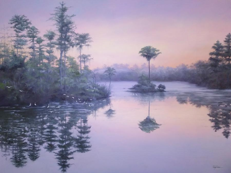 Florida Painting - A New Dawn by Mary Taglieri