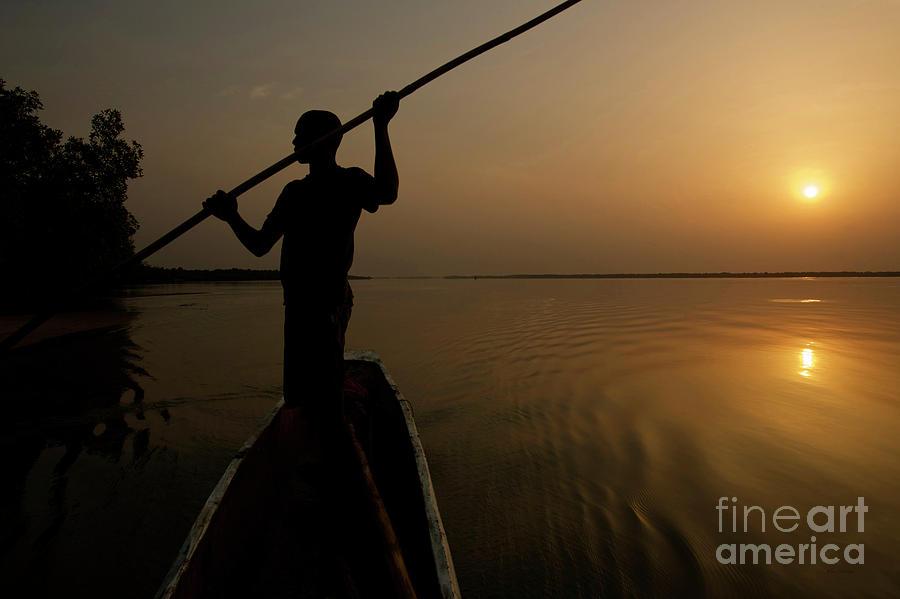 A New Day at Dawn - Sierra Leone by Julian Wicksteed