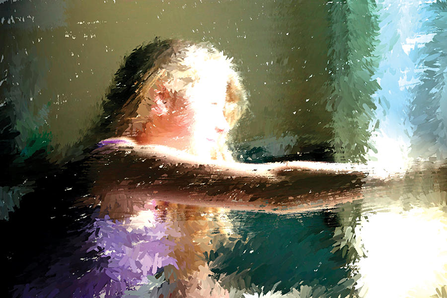 Young Digital Art - A New Day by Judith Bicking