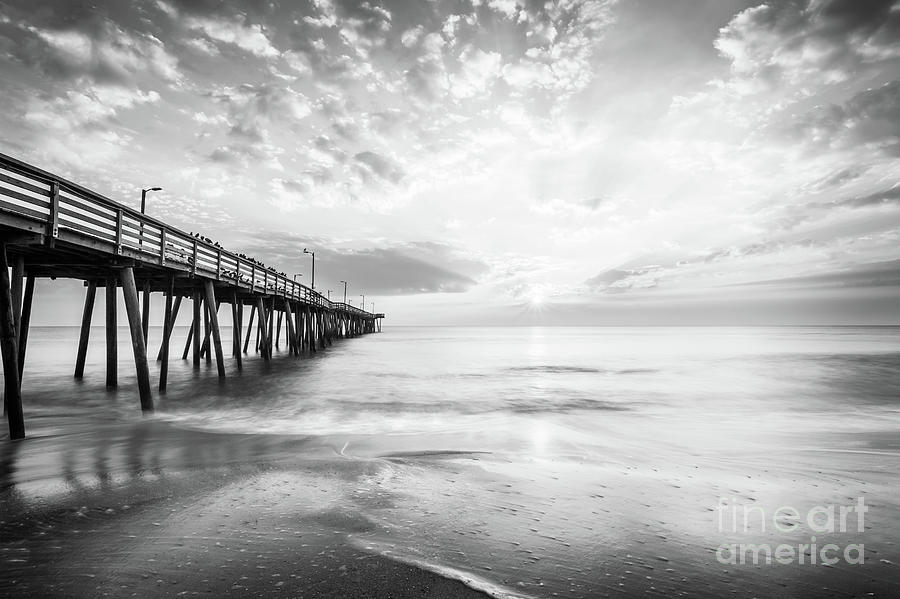 Beach Photograph - A New Day by Lisa McStamp