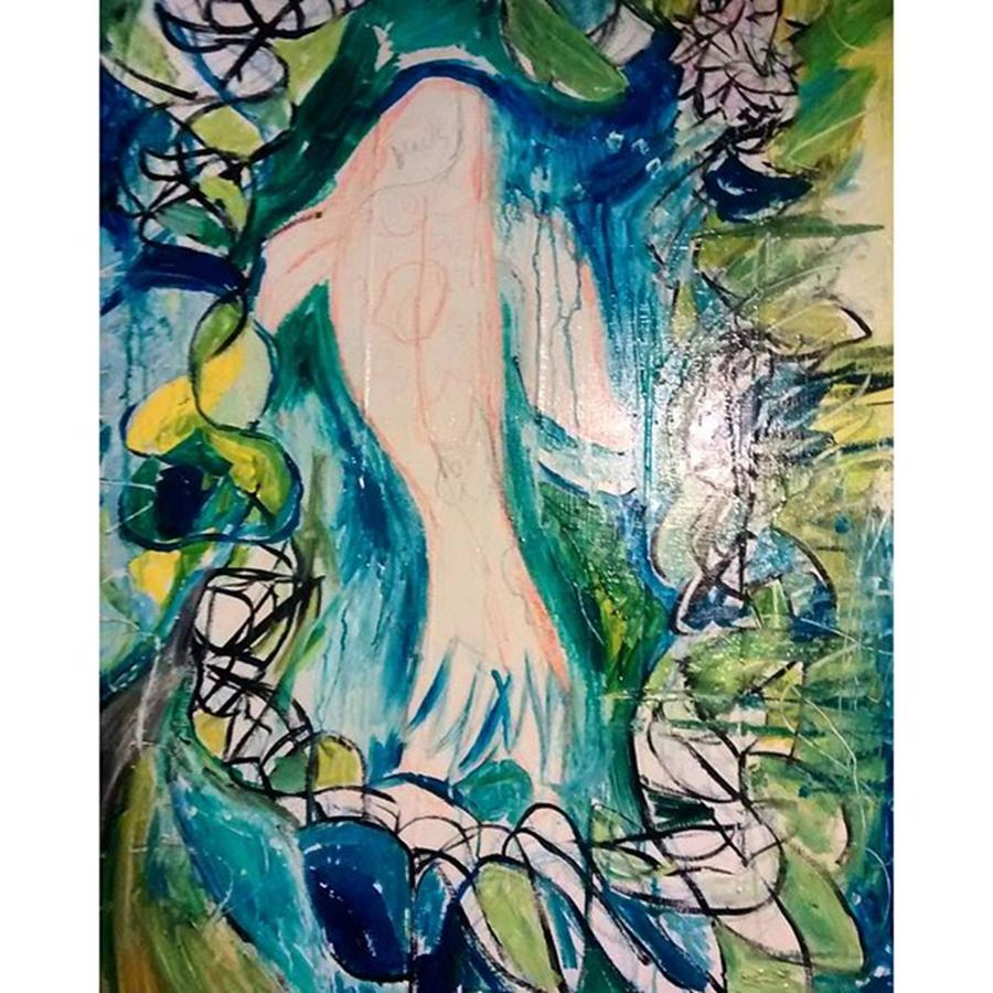 Instagram Photograph - A New Painting Taking Shape In The by Genevieve Esson