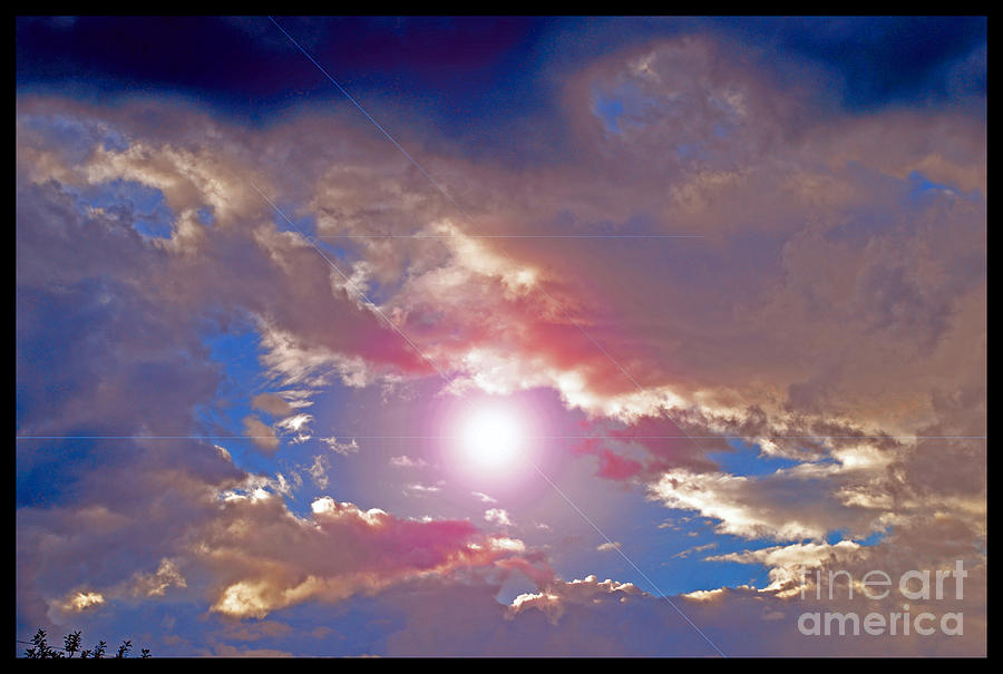 Skyscape Photograph - A New Sort of Evening by Susanne Still