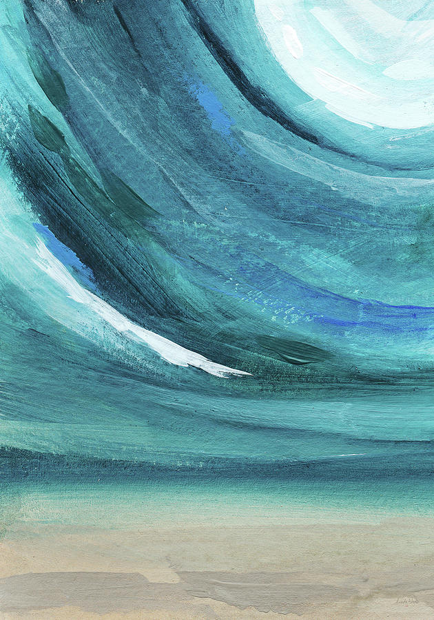 Abstract Painting - A New Start- Art By Linda Woods by Linda Woods