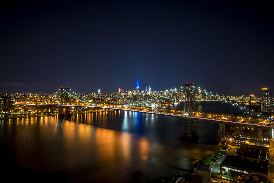 Nyc Photograph - A New York City Night by Johnny Lam