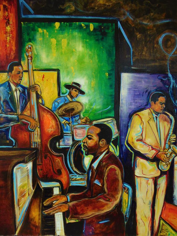 a night for smooth jazz by Emery Franklin