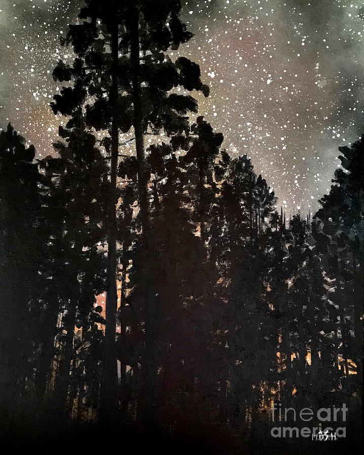 The Forest night by Wonju Hulse