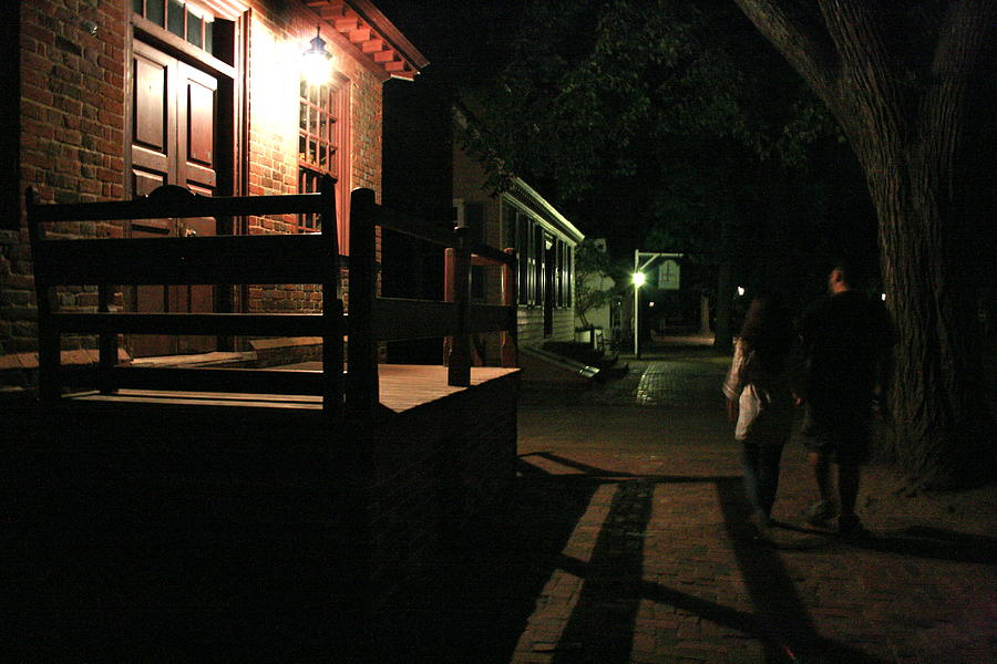 Landscape Photograph - A Night In Williamsburg by Aimee Galicia Torres