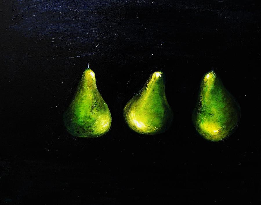 Pears Painting - A Pair And A Half by Steffen  Anderson
