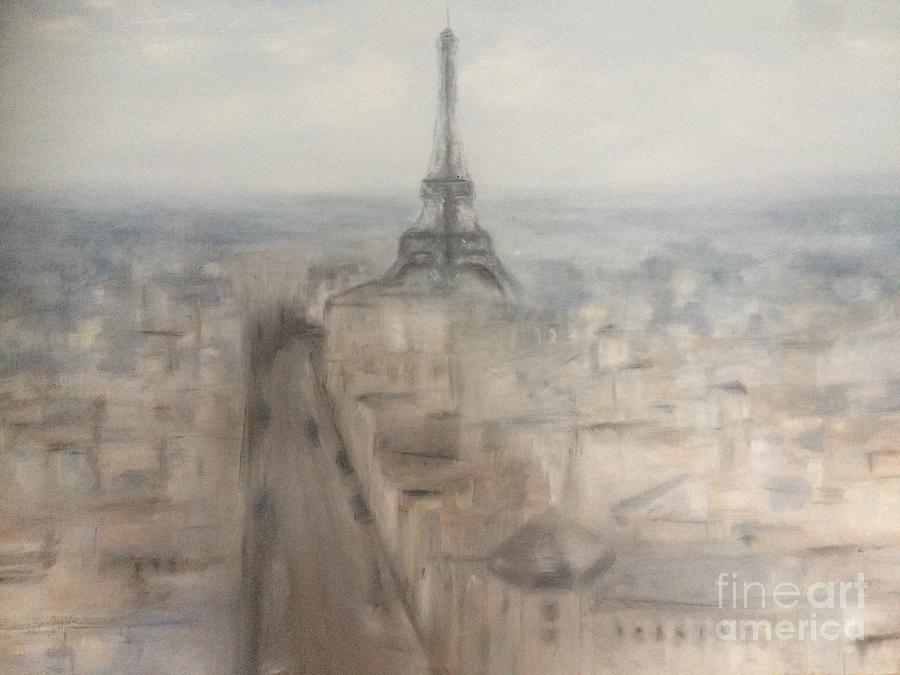 Paris Painting - A Paris Birthday by Julia Hakes