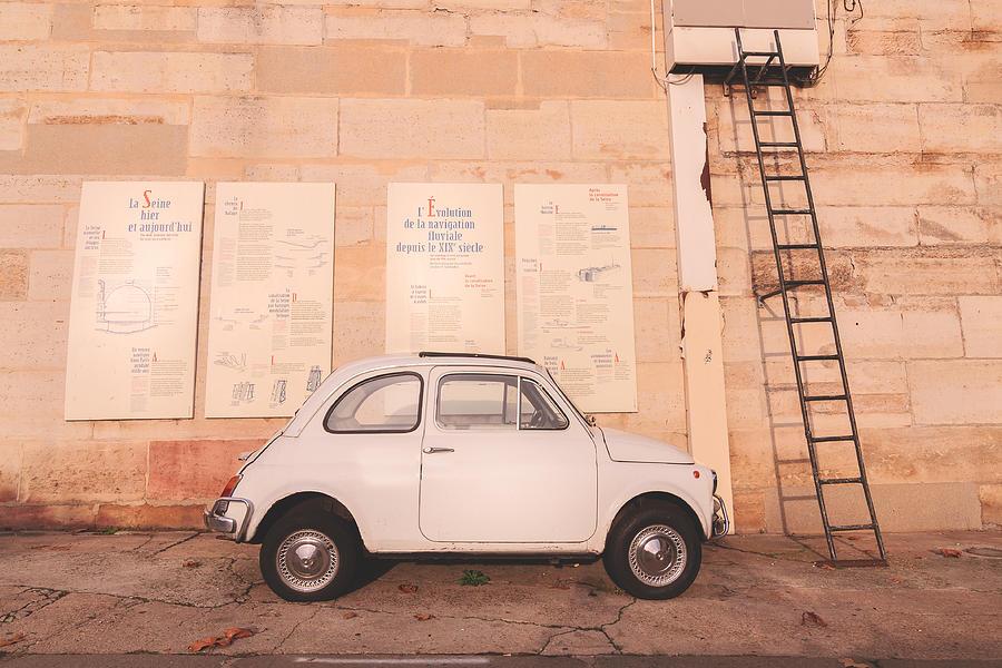 A Parisian Fiat 500 Photograph