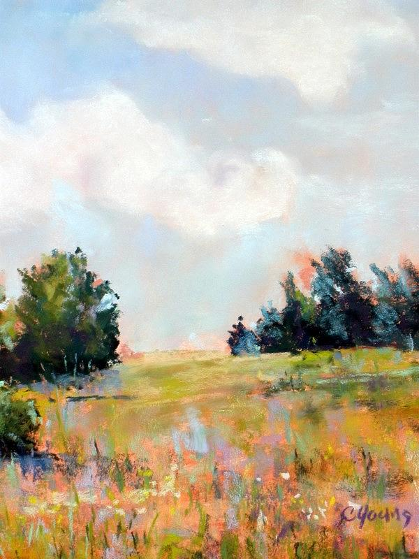 A Pastel Kind Of Day Painting by Caryl Joy Young