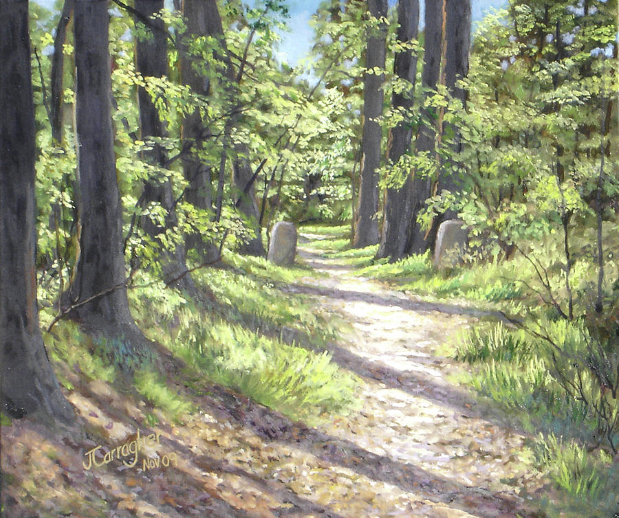 Landscape Painting - A Path Well-travelled by Joseph Carragher