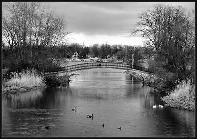 Elizabeth Park Trenton Photograph - A Perfect Day by Angeys Photography