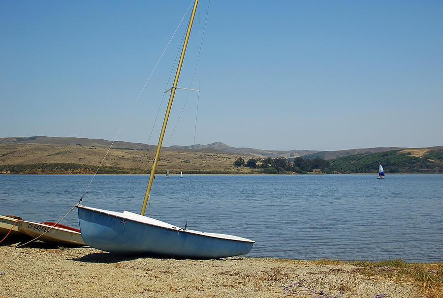 Sailboat Photograph - A Perfect Day For Sailing by Suzanne Gaff
