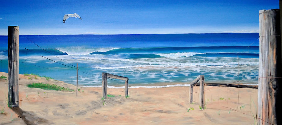 Beach Painting - A Perfect Day by Tania Kay