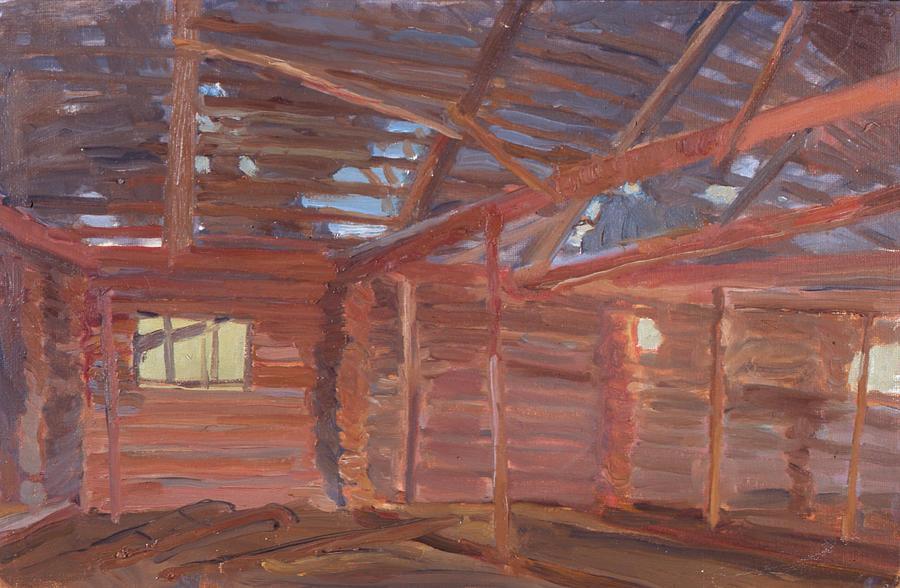 A pink shed by Yana Poklad