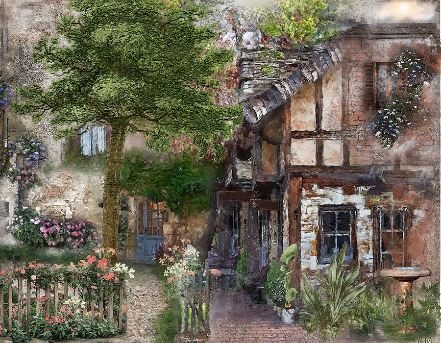 Houses Digital Art - A Place Called Home by Laura Botsford