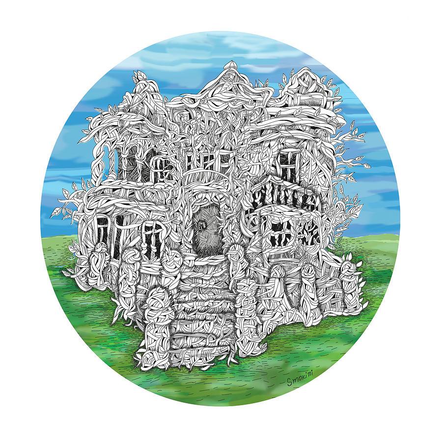 House Digital Art - House Of Secrets by Smokini Graphics