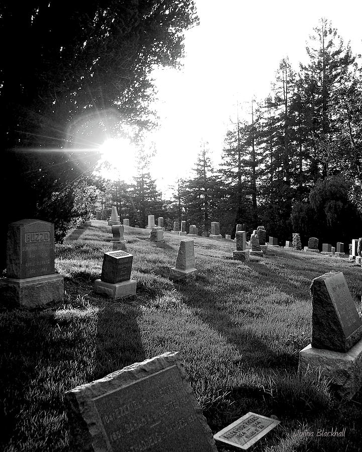 Graveyard Photograph - A Place To Rest by Donna Blackhall