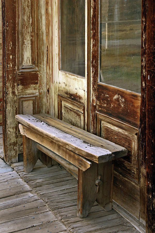 Bench Photograph - A Place To Rest by Inge Riis McDonald