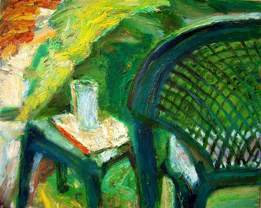 Dornberg Painting - A Place To Write by Bob Dornberg
