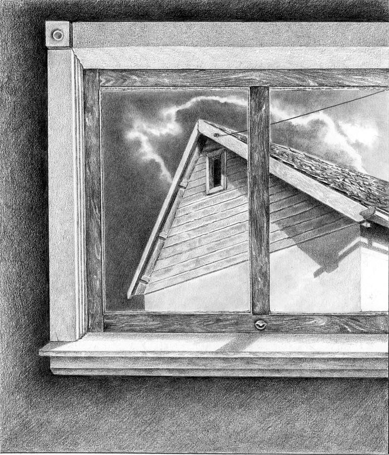 Pencil Drawing - A Possibility Unfolds by Gary Ciancio