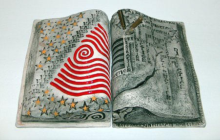 Ceramic Mixed Media - A Potent Distraction by Gayla Lemke