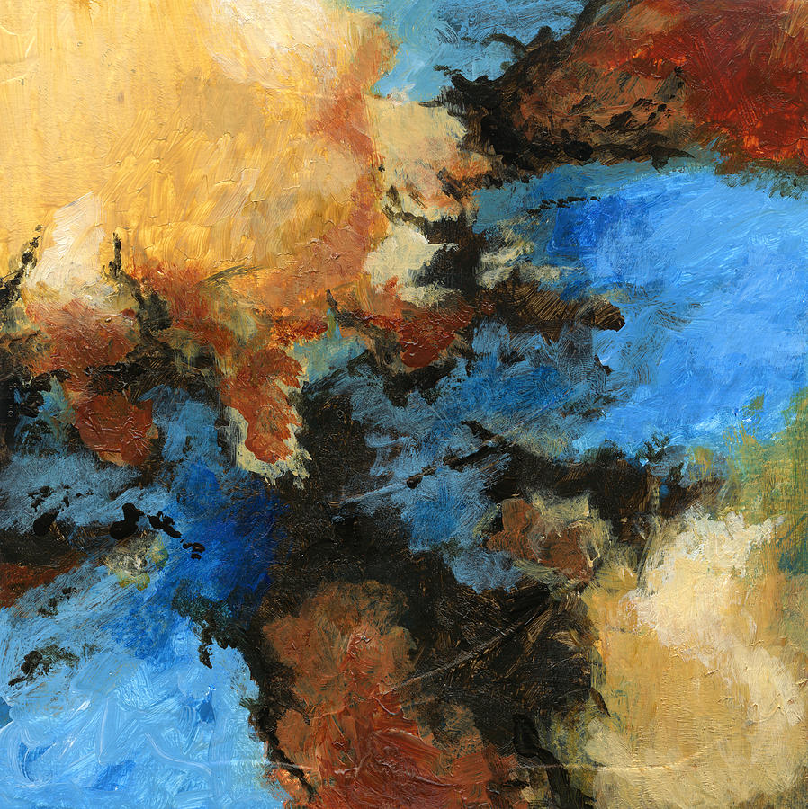 Abstract Painting - A Precious Few Abstract by Karla Beatty