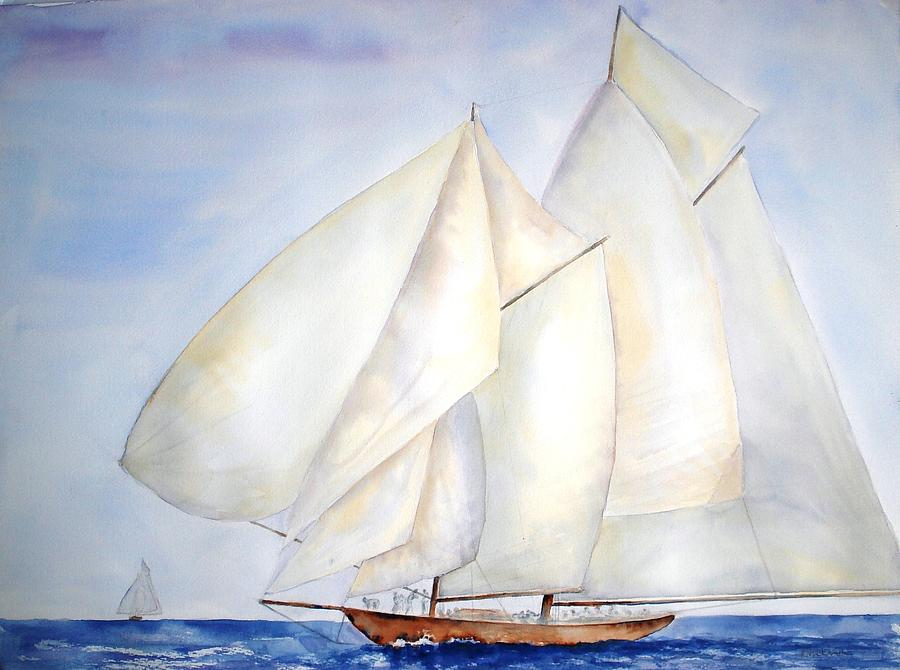 A Press of Sails by Diane Kirk