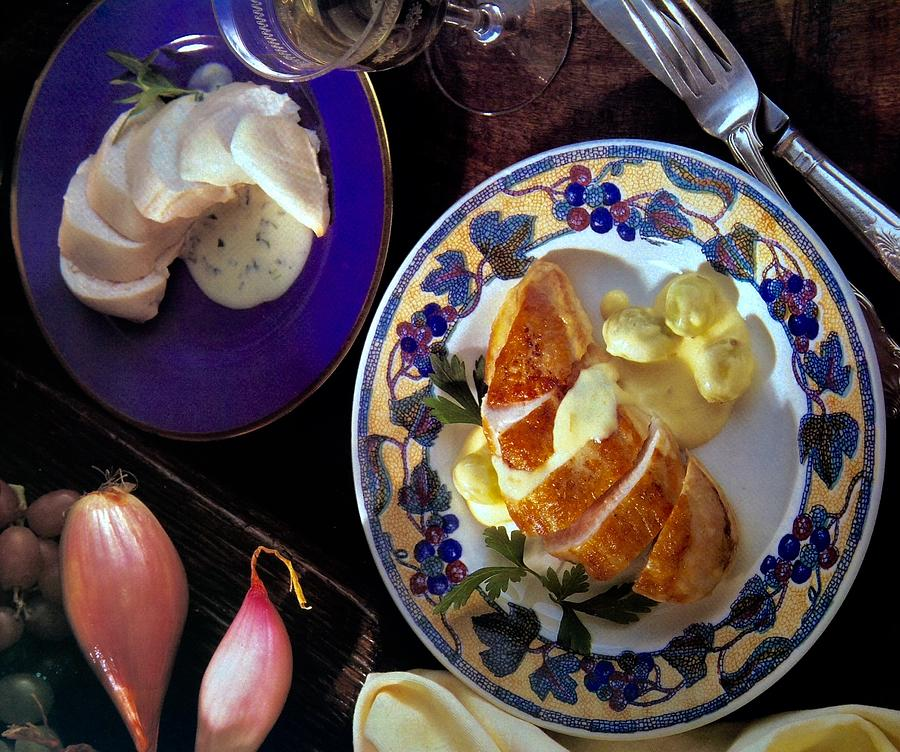 A Provence Luncheon Photograph by Jacqueline Manos