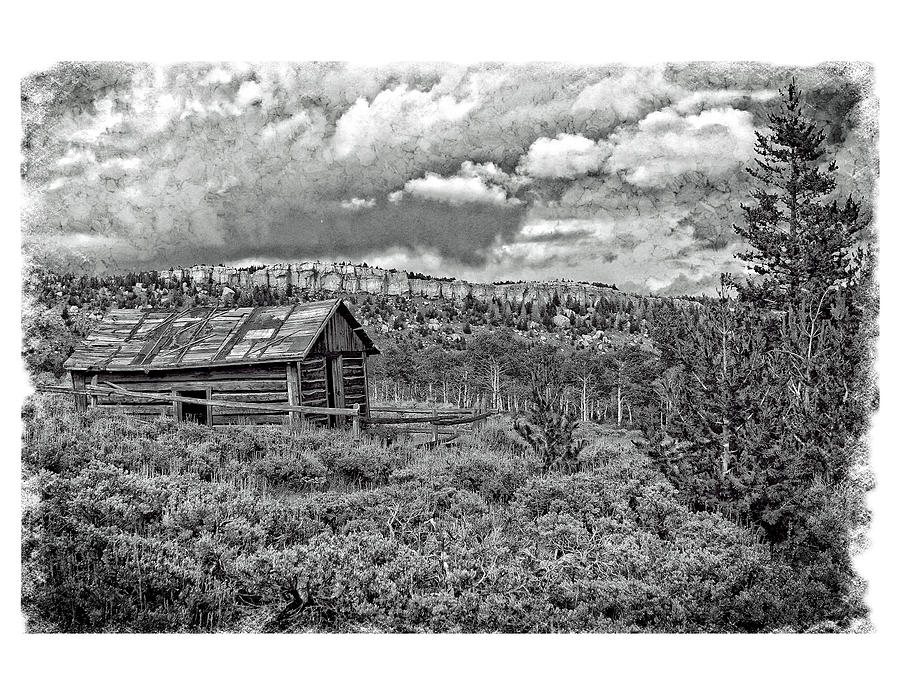 Cabin Photograph - A Quiet Place 2f by Richard Xuereb