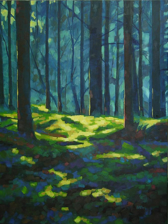 Landscape Painting - A Quiet Place by Mary McInnis