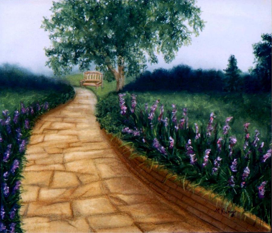 Landscape Painting - A Quiet Place by Melissa Joyfully