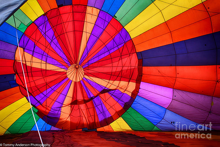 Temecula Photograph - Temecula, Ca - A Rainbow Of Colors by Tommy Anderson