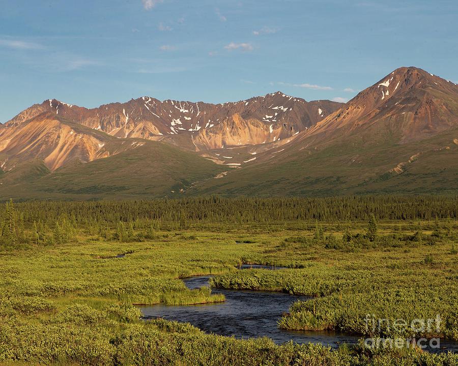 Alaska Photograph - A River Runs Through It by Ursula Lawrence