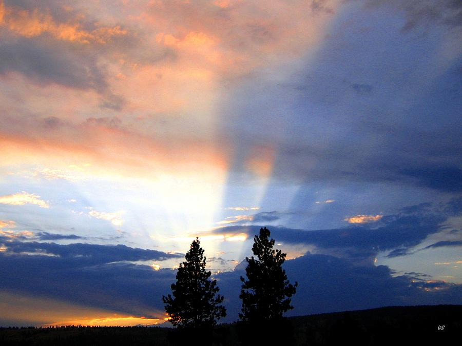 Sky Photograph - A Riveting Sky by Will Borden
