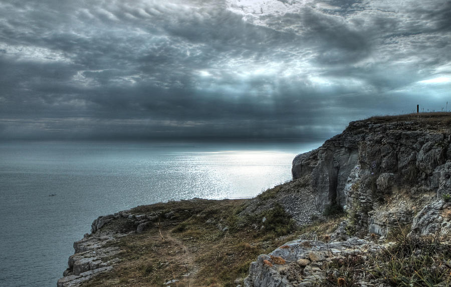 Dorset Photograph - A Rock With A View by Graham Ettridge